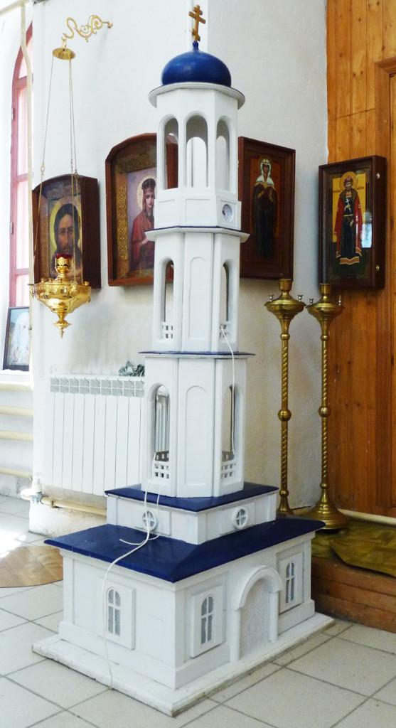 Макет колокольни
